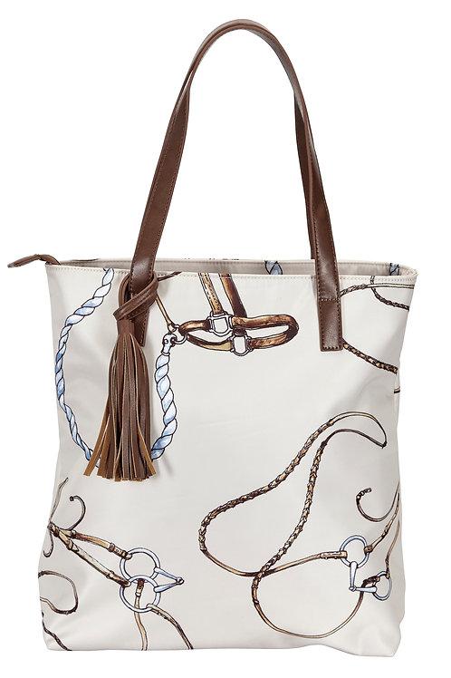 """Lila"" Equestrian Gear Tote Bag"