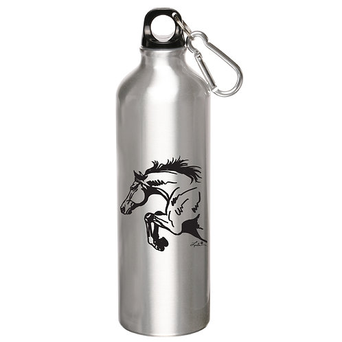 GG739SI Silver Aluminum Sports Bottle