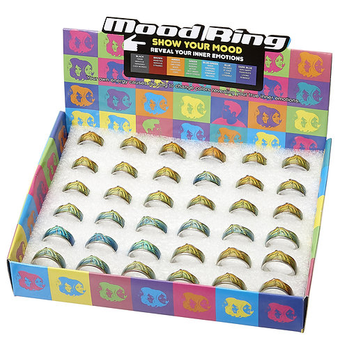 JRDIS13 Mood Ring Display Box