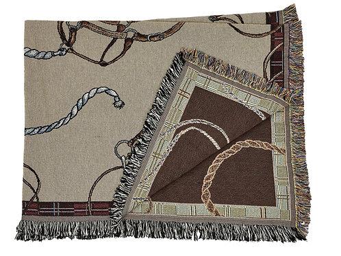 Lila© Equestrian Throw Blanket