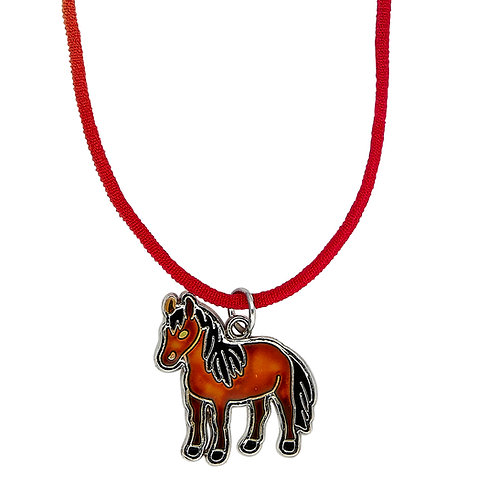 Horse Body Mood Necklace