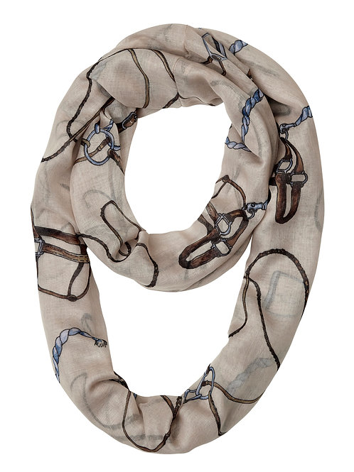 "GG1055 ""Lila"" Bridle & Things Infinity Scarf"