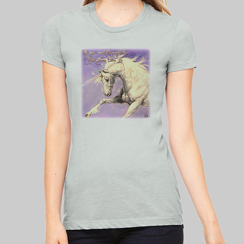 A425 Ladies' Unicorn Tee