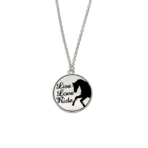 """Lila"" Inspirational Word Necklace"
