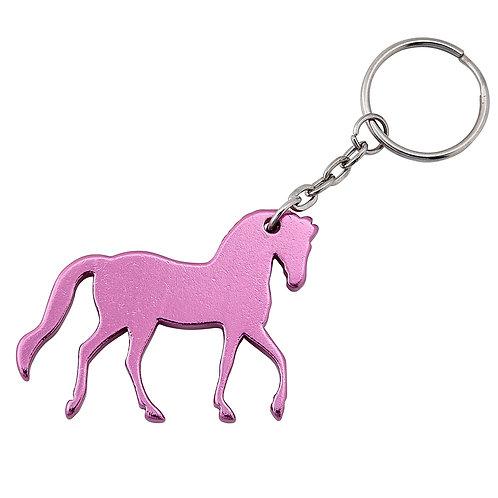 Pink Horse Key Chain