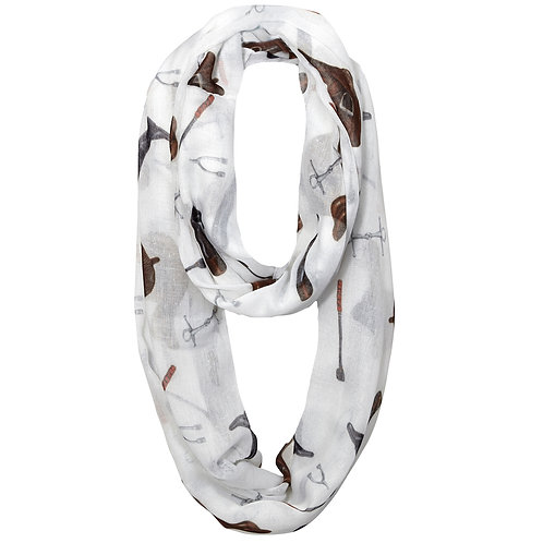 "GG1048CS ""Lila"" English Gear Infinity Scarf PACK OF 10"
