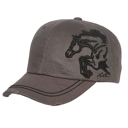 Lila©Embroidered Half Horse Jumper Cap