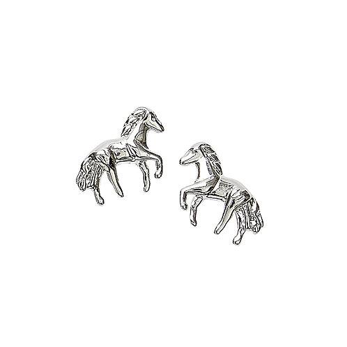 Sterling Silver Mini Horse Earrings