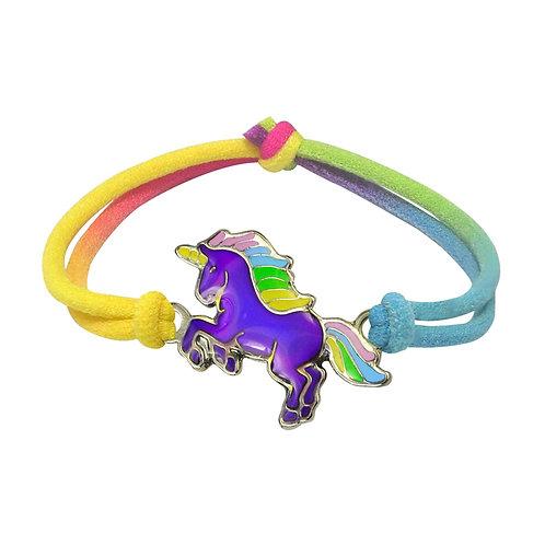 Rearing Unicorn Mood Bracelet