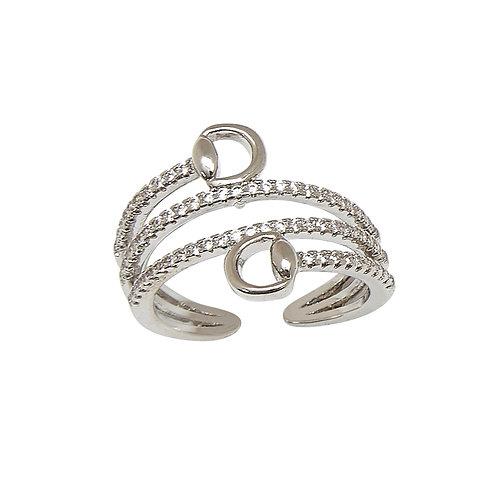 JR1000 Spiral Snaffle Bit Ring