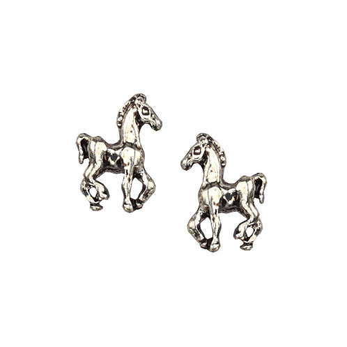 Sterling Silver Mini Foal Earrings