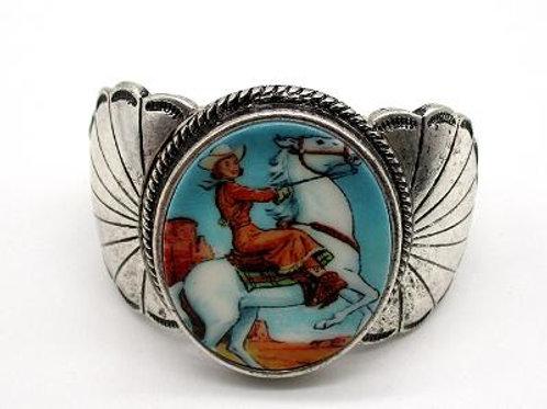 JB2056 Retro Cowgirl Cuff Bracelet