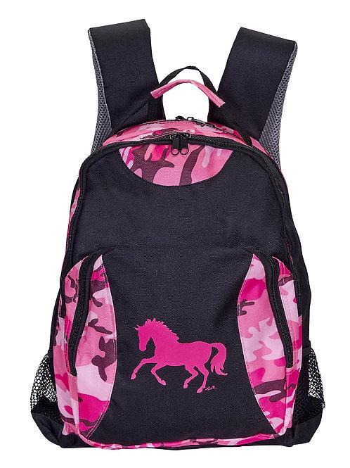 Lila©Pink Camo Backpack