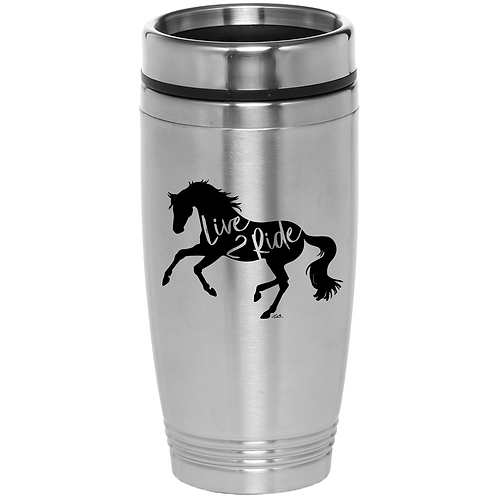 GG632 Silver Stainless Steel Tumbler