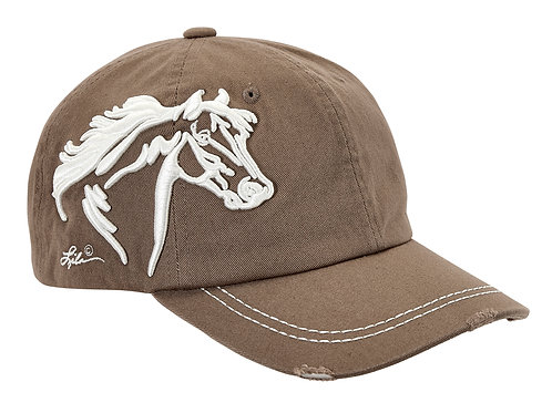 Lila© Embroidered Horse Head Cap