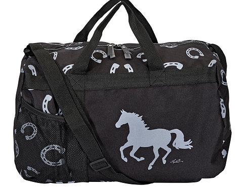 """""""Lila"""" Horseshoes Duffle Bag"""