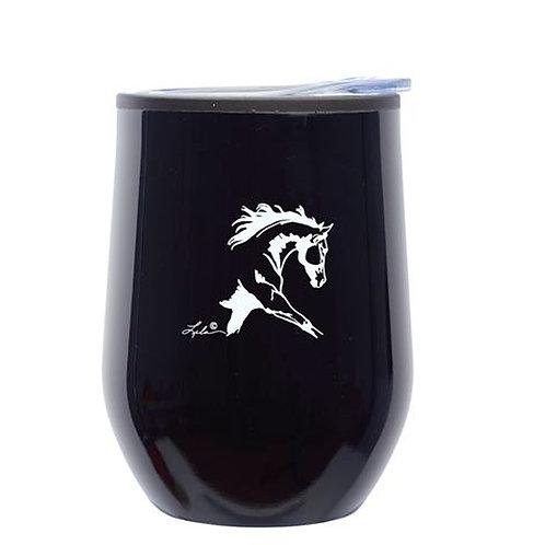 GG644 Black Stemless Wine Tumbler