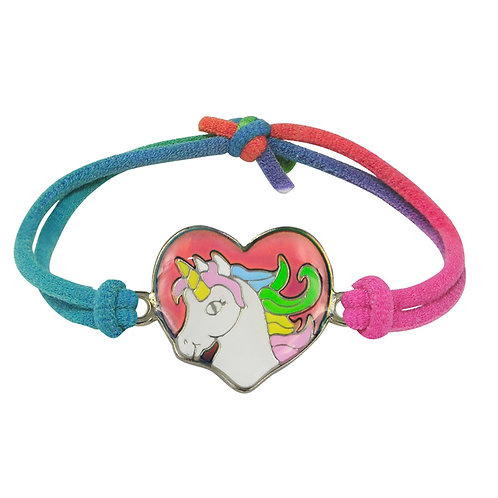 Unicorn Heart Mood Bracelet