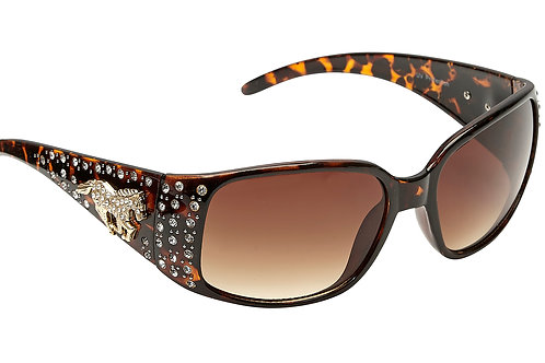 GG8358BR Sunglasses with Rhinestone Horse