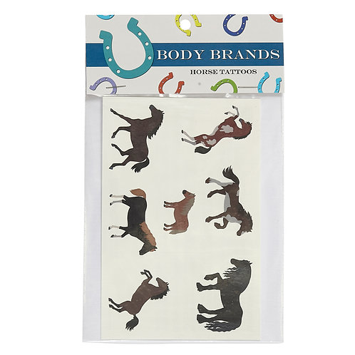 GG228CS Assorted Horse Tattoos CASE OF 50