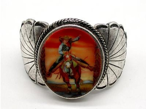 JB2057 Retro Cowgirl Cuff Bracelet