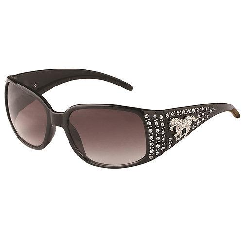 GG8358BK Sunglasses with Rhinestone Horse