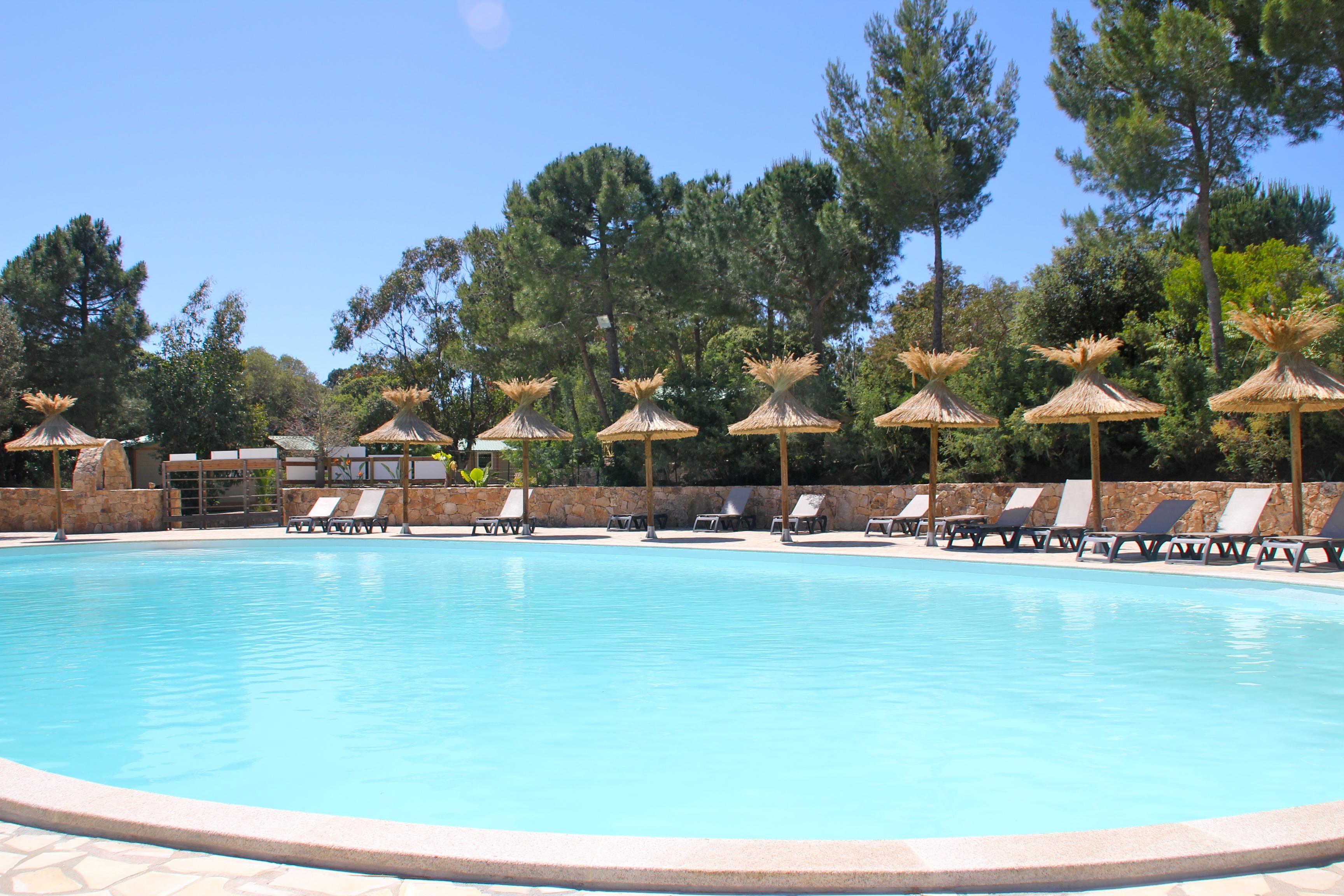 Grande piscine de jour