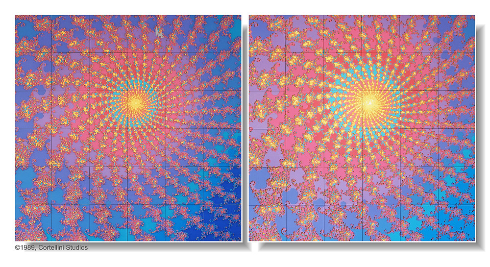 The Total Perspective Vortex - A Work of Fractal Expressionism