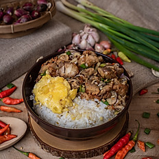 Kerala Chicken Roast with Egg