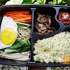 Korean Rice with vegetable and Gochujang Beeg