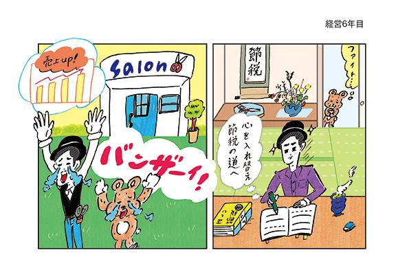 美容の経営プラン2020/11月号挿絵