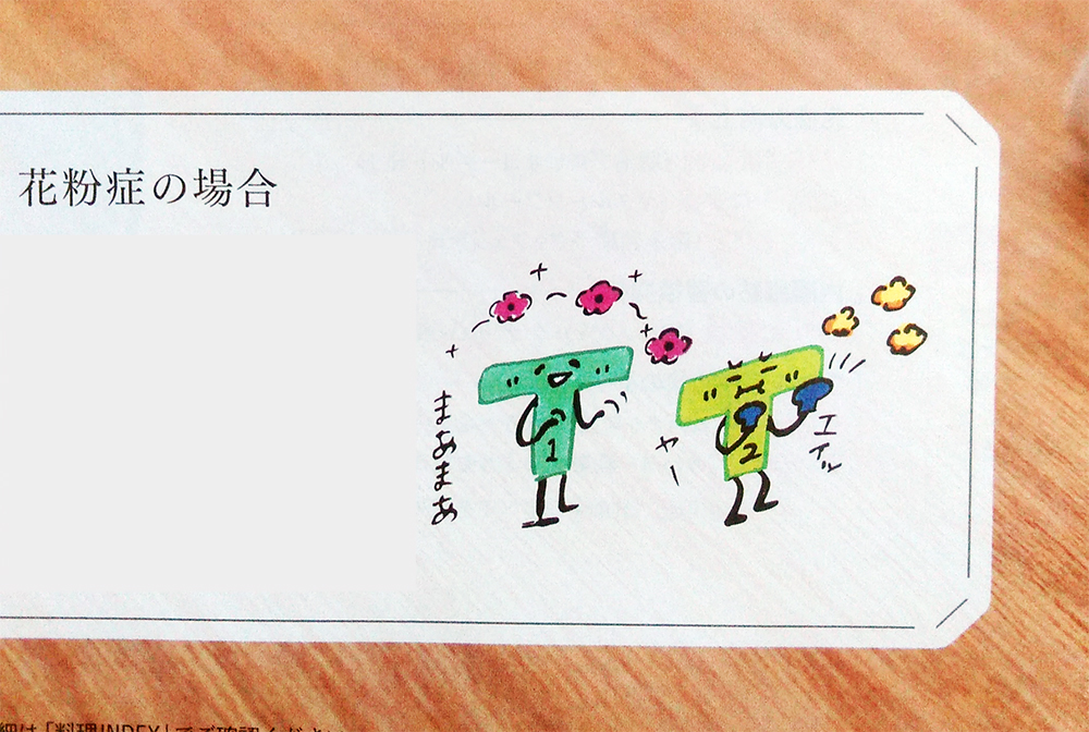 「オレンジページ」 2018/2/17号 「乳酸菌活」はじめよう。挿絵