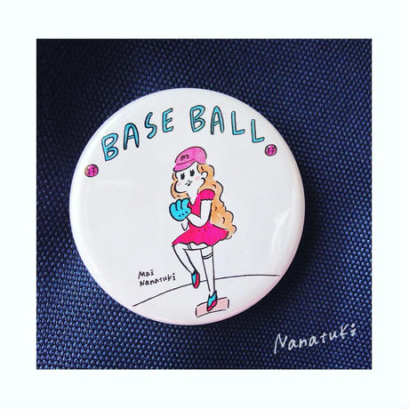 baseball缶バッチ/2014