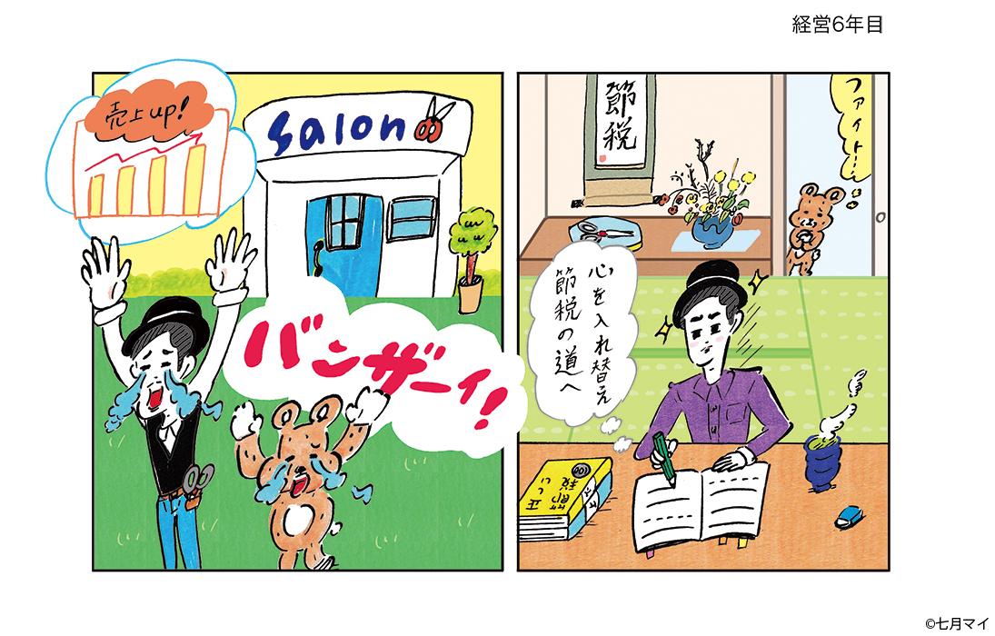 美容の経営プラン2020_11月号挿絵