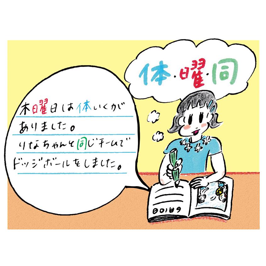 work/AERA with Kids 2020夏号「低学年のケアレスミス」 p94〜p99までの挿絵
