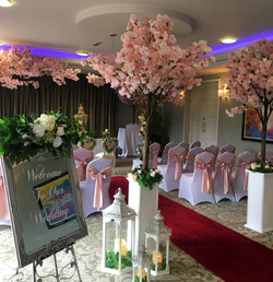 Civil Ceremony with Cherry Blossoms