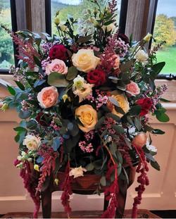 Wedding fresh floral designs