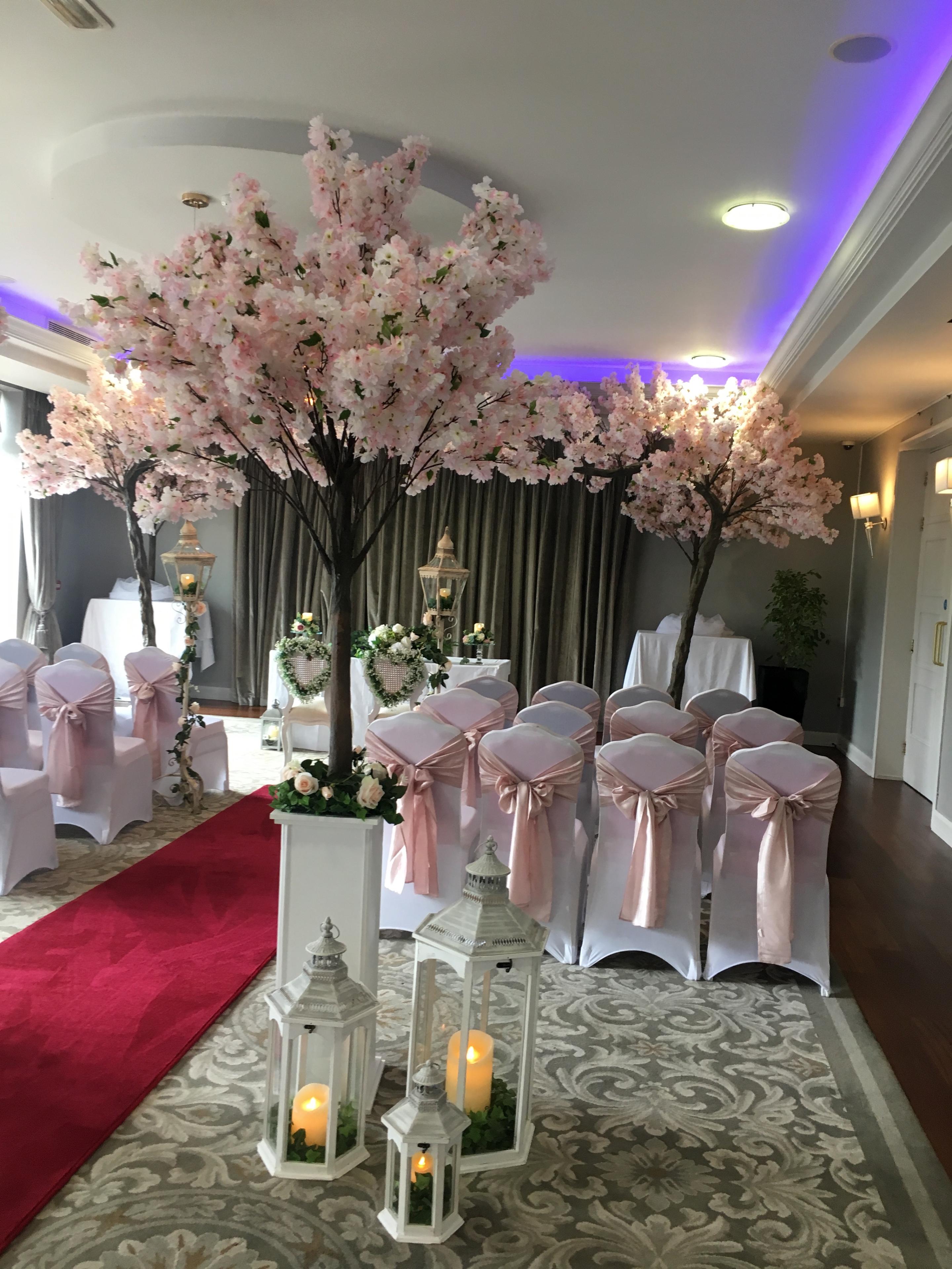 Cherry Blossom & Lanterns