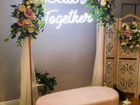 Better Together: Wedding Neon Signage