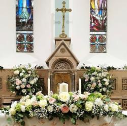 Wedding church flowers Ireland