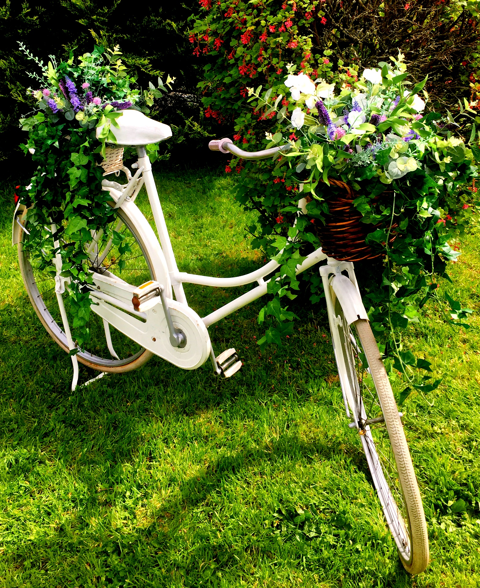 Vintage wedding Bicycle