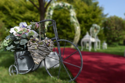 Small Bicycle Floral Decoration