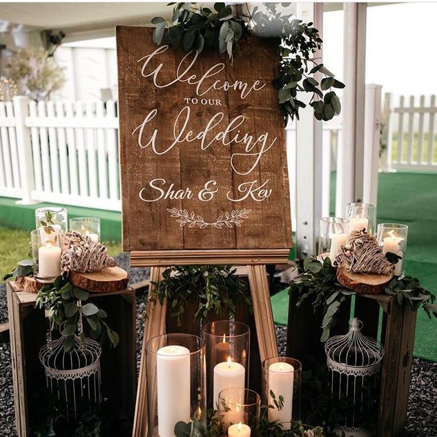 Wedding Personalised Sign
