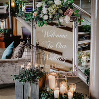 Personalised wedding decor Ireland, wedd