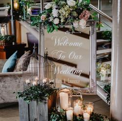 Personalised wedding decor Ireland, wedd