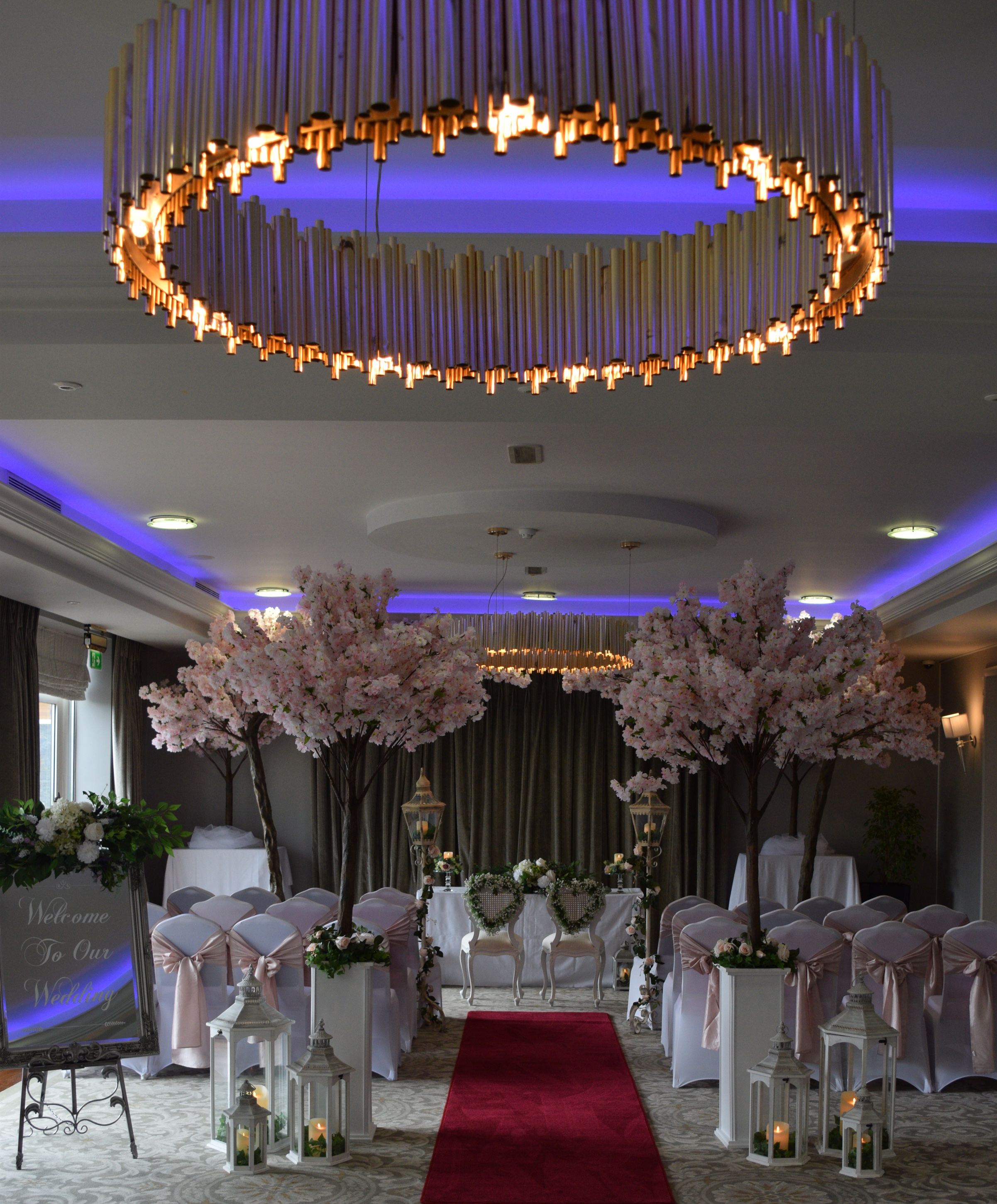Civil Ceremony with Red Carpet