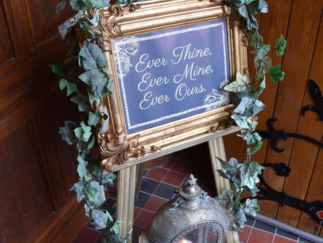 Wedding Trends - Signage