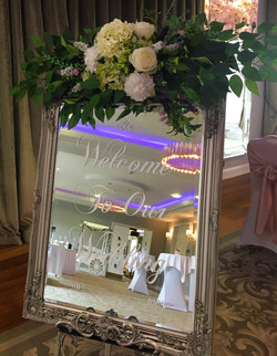 Welcome mirror