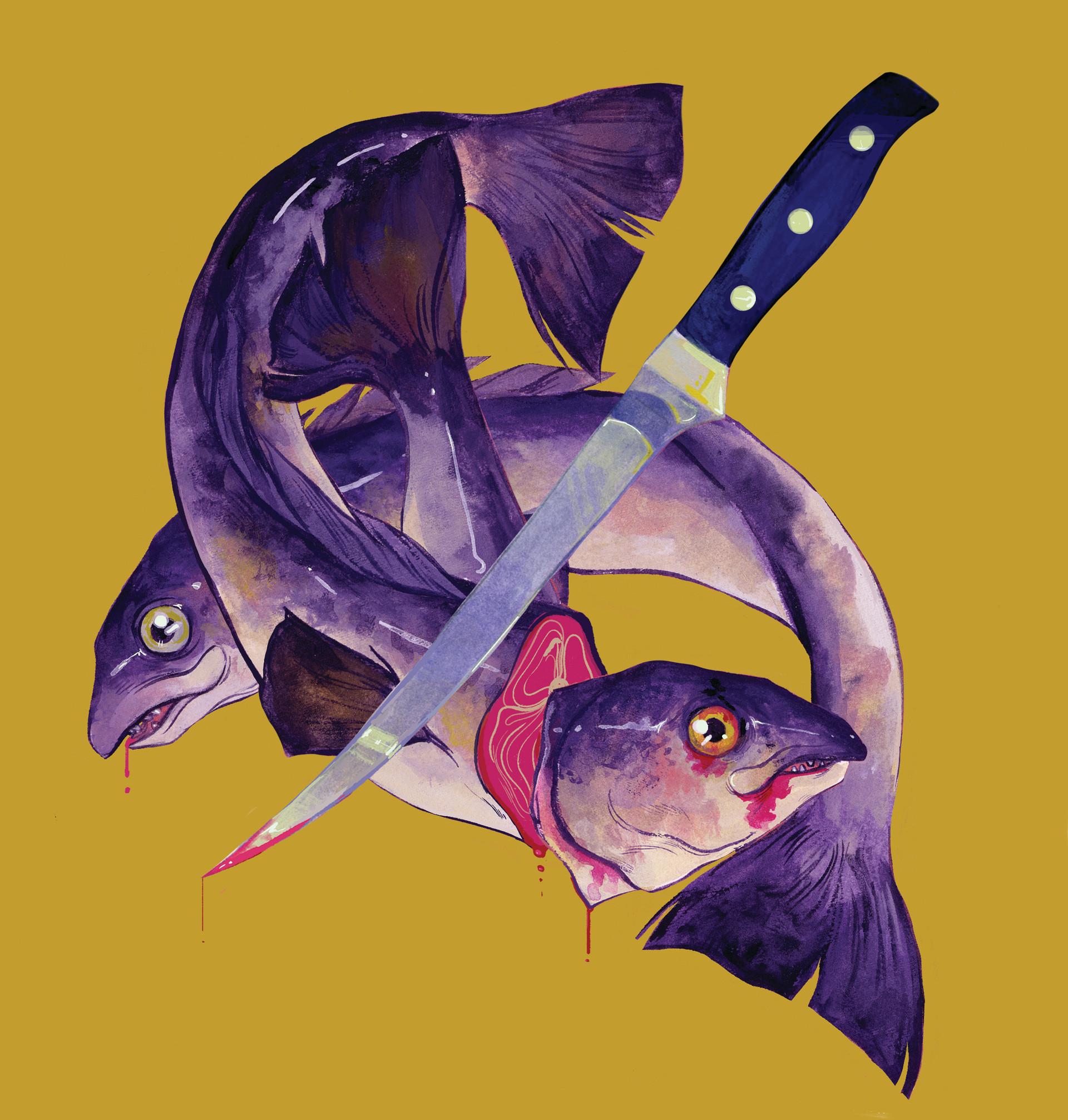 Fish Spot Illustration
