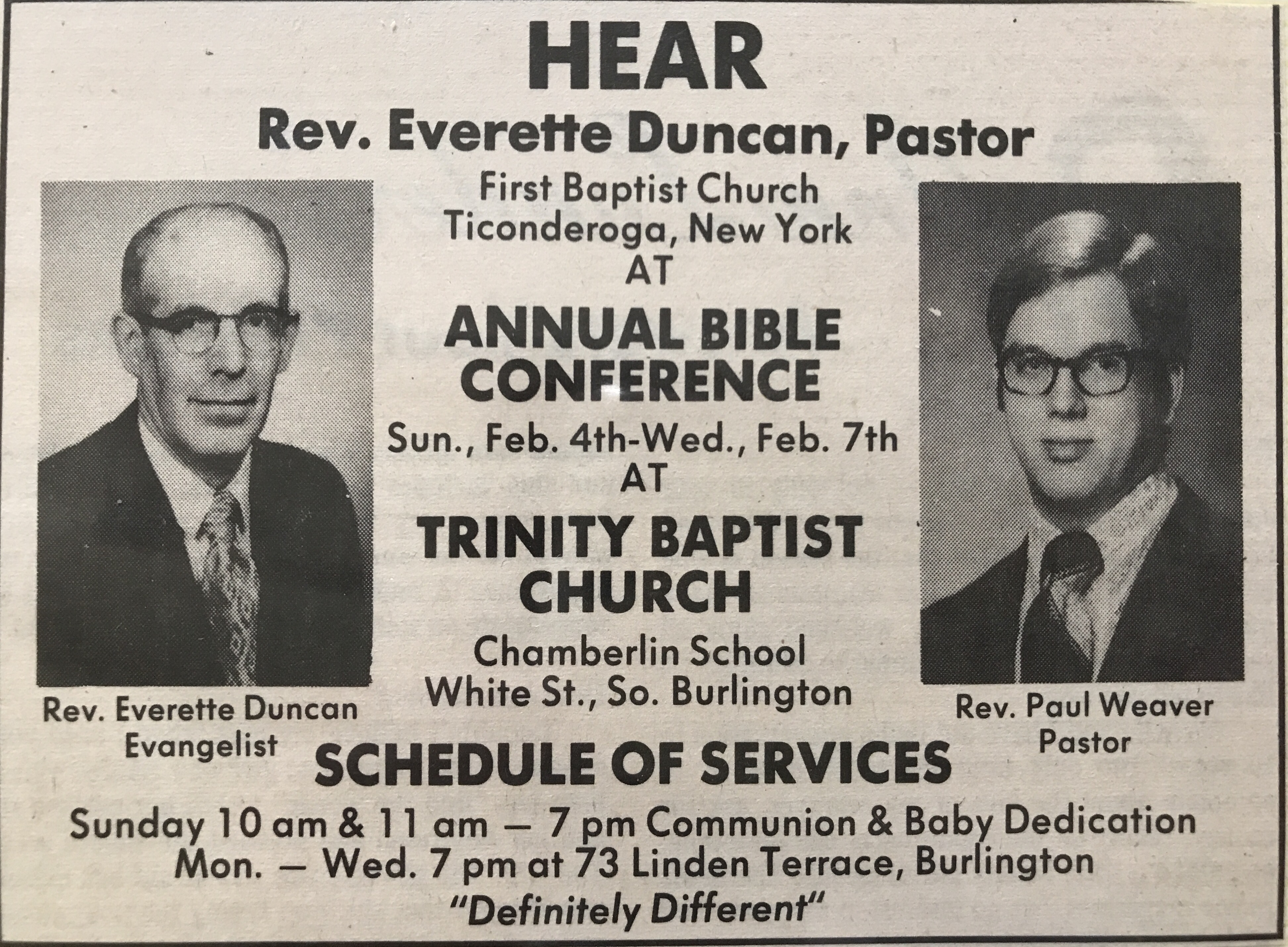 Annual Bible Conference